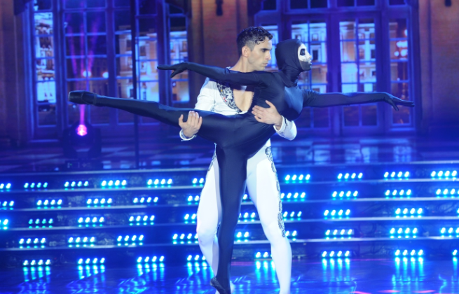 Cinthia Fernández se la jugó en el clásico: usó puntas de ballet y logró un alto puntaje