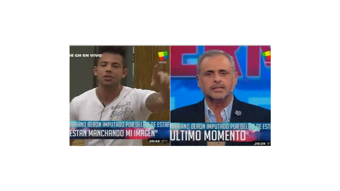 Gran Hermano: Así reaccionó Mariano Berón cuando le notificaron que está imputado por estafa