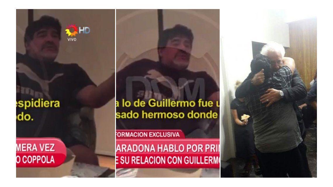 Después del reencuentro, Diego Maradona criticó a Guillermo Cóppola: Fue mi amigo, pero me cagó