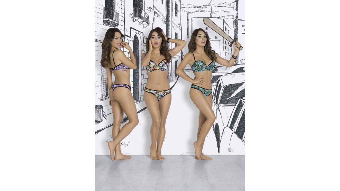 La producción caliente de Lali Espósito en ropa interior