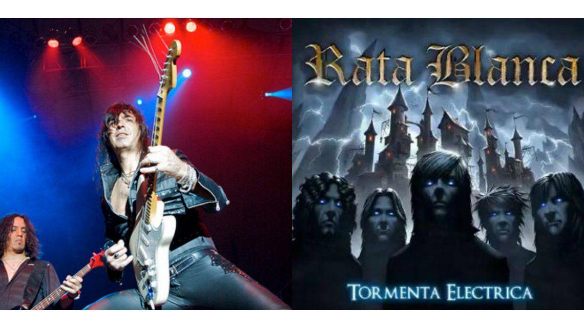Rata Blanca presenta su nuevo disco, Tormenta Eléctrica