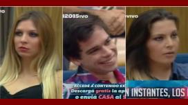 Gala caliente en GH: peleas, reproches y tres nominados, Matías, Angie y Romina