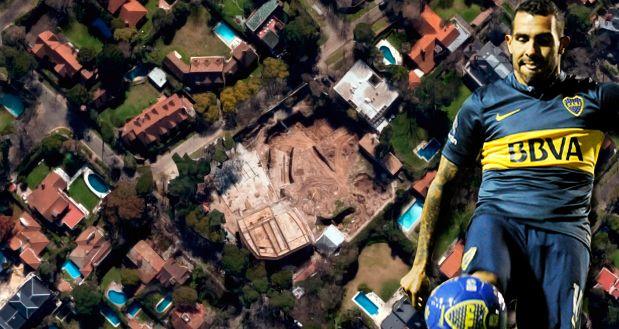 ¿De qué famoso era la impresionante mansión que Carlos Tevez compró en La Horqueta?