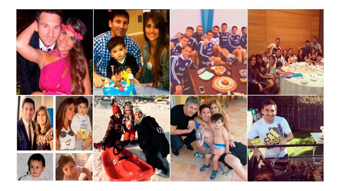 Lionel Messi llegó a los 20 millones de seguidores en Instagram y lo festejó con un emotivo video