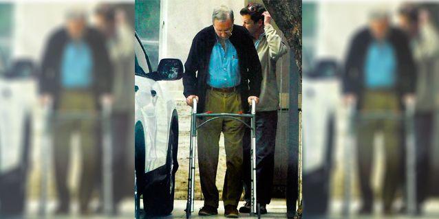 La rehabilitación de Mariano Grondona, tras sufrir un ACV hace tres años