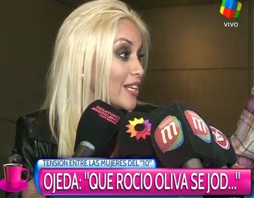 Verónica Ojeda, furiosa con Rocío Oliva: Que se joda si se enojó, Diego es el padre de mi hijo