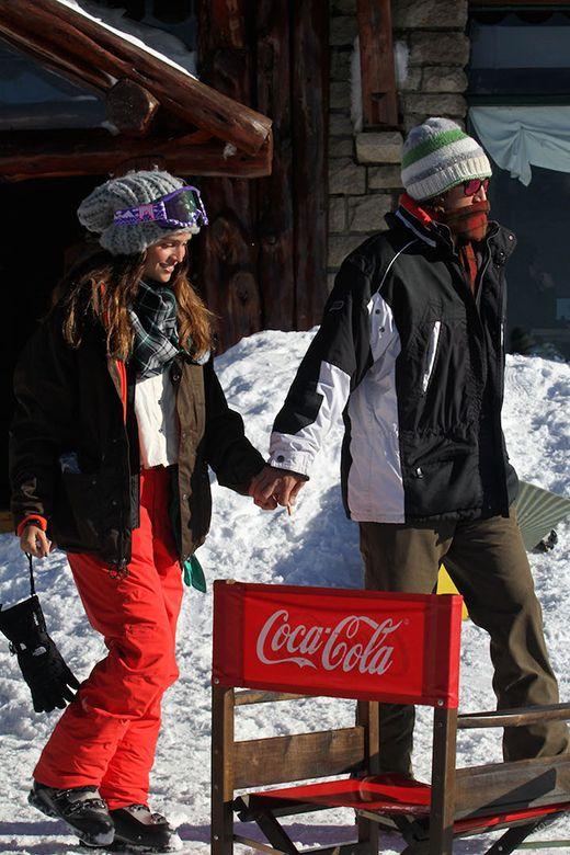 Zaira Nara y su novio Jacob Von Plessen: escapada romántica a la nieve