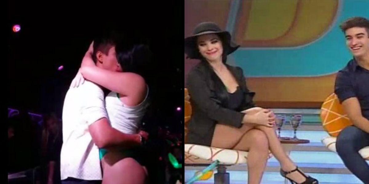 Eloy Rivera hizo la gran Icardi: el video a los besos con la novia de Mariano Verón