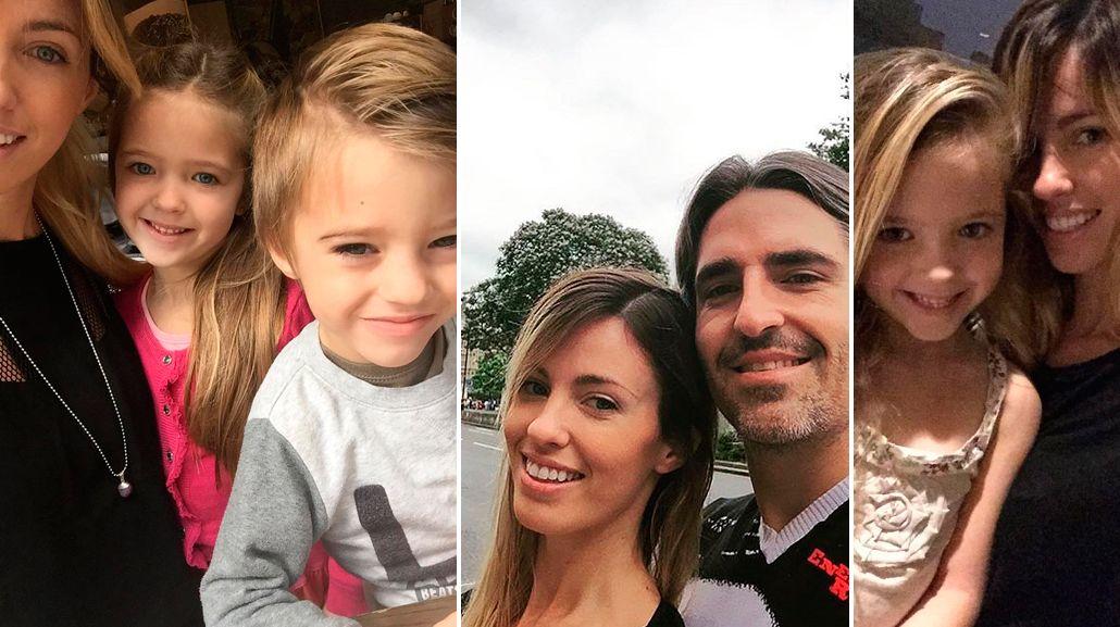 Mirá el álbum de las vacaciones en familia de Rocío Guirao Díaz en Europa