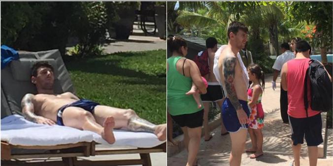 Tras las polémicas, Messi se fue de vacaciones y analiza su futuro en la selección