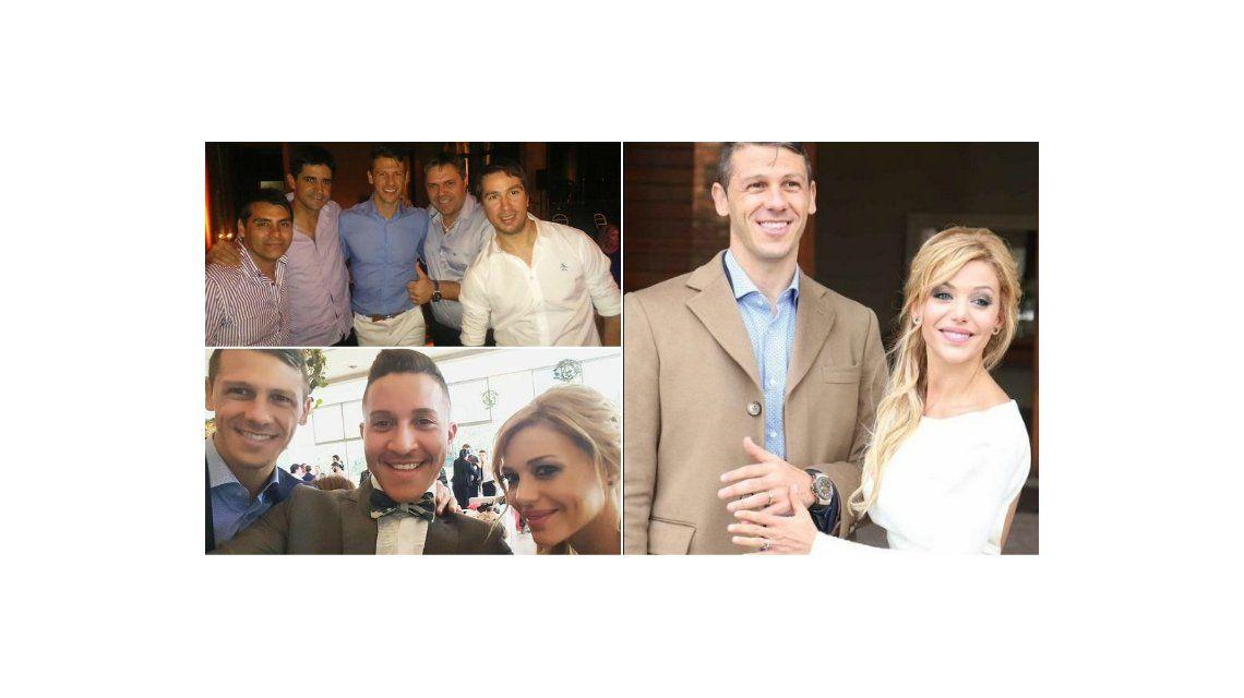 El casamiento y festejo íntimo de Evangelina Anderson y Martín Demichelis