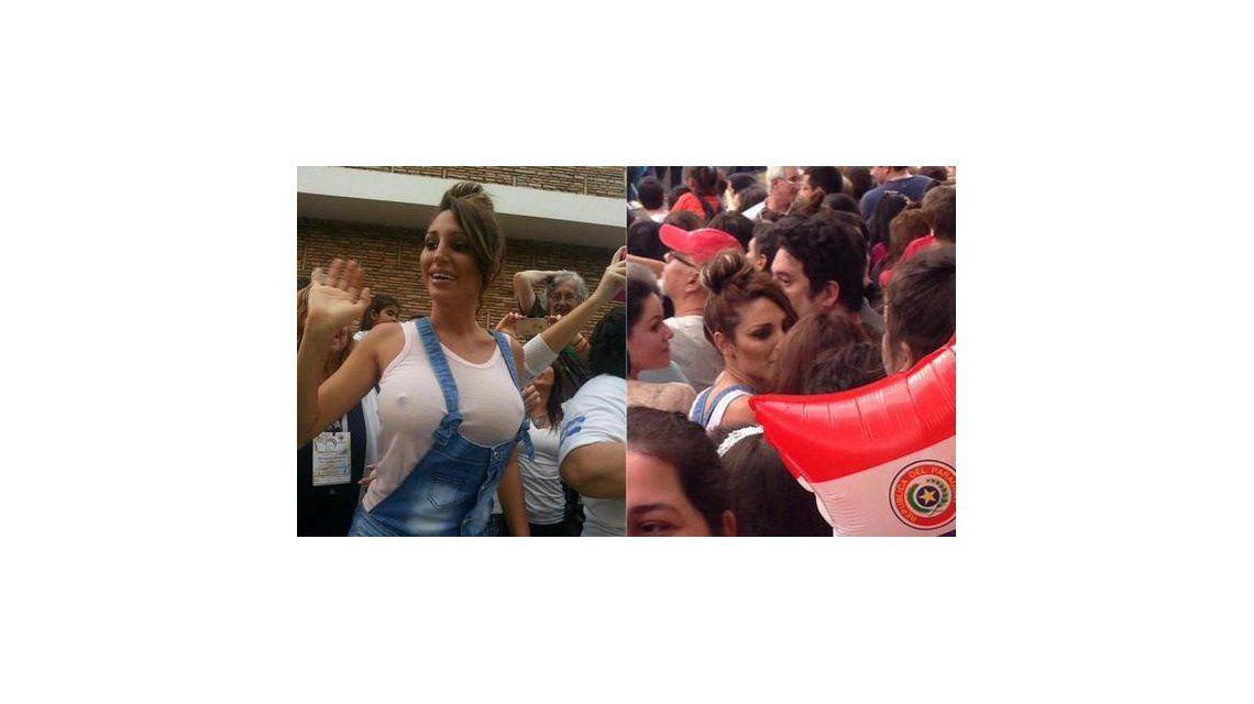 Desde Paraguay, habló Vicky Xipolitakis: Me quiero retirar