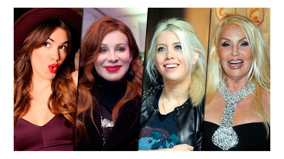 Mirá las fotos de los DNI de los famosos