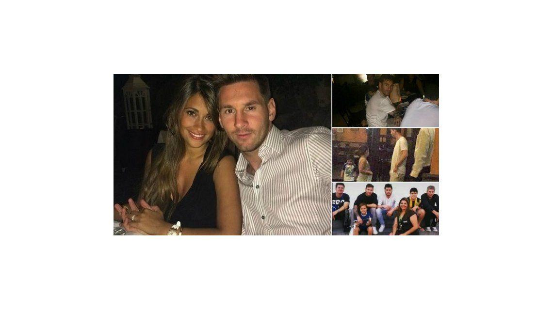 Después de la internación de su mujer, Antonella Roccuzzo, Lionel Messi se fue de vacaciones al Caribe con su familia