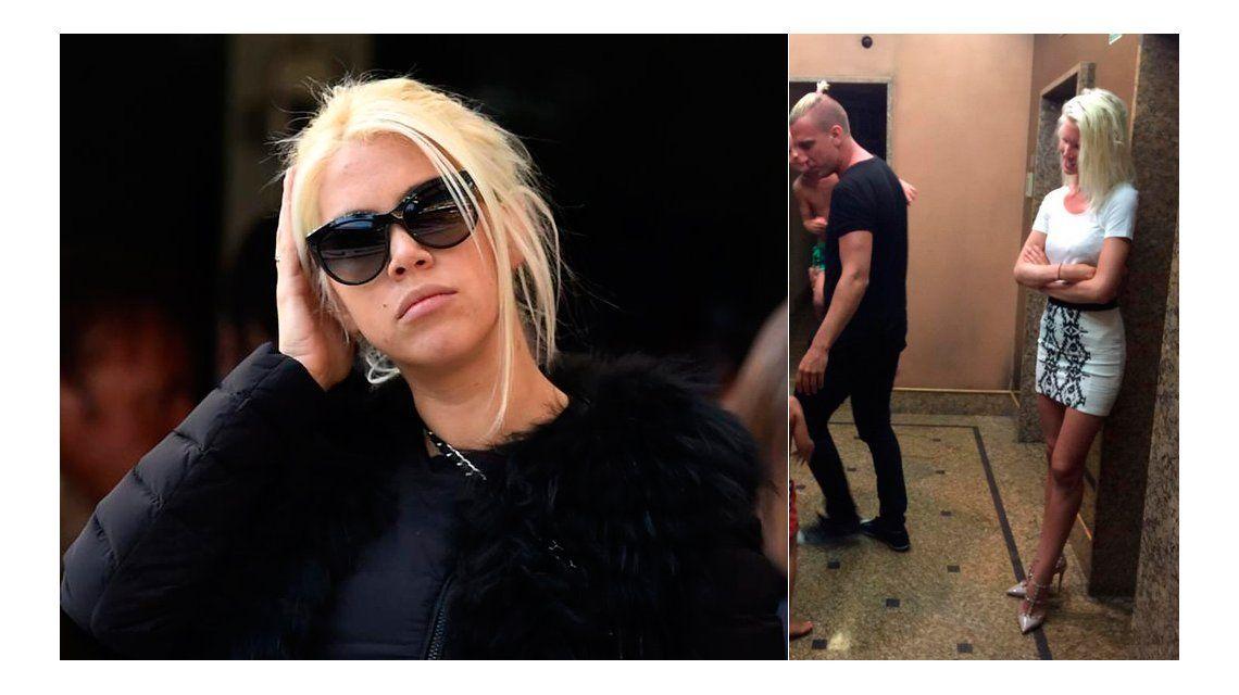 Maxi López visitó a sus hijos y Wanda Nara trató a su novia sueca de mal vestida