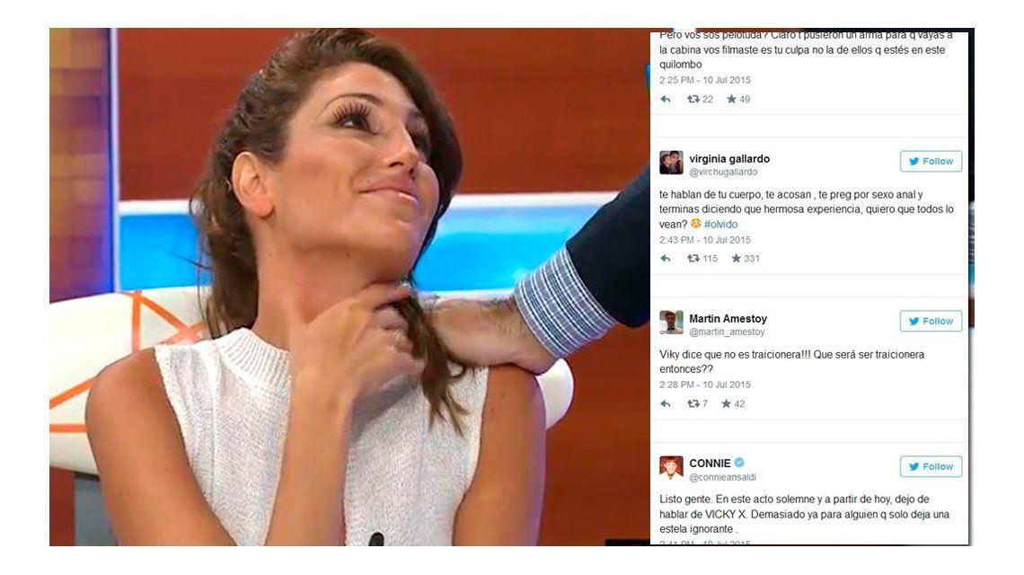 Los famosos no le creen a Vicky Xipolitakis y la destrozaron en las redes sociales