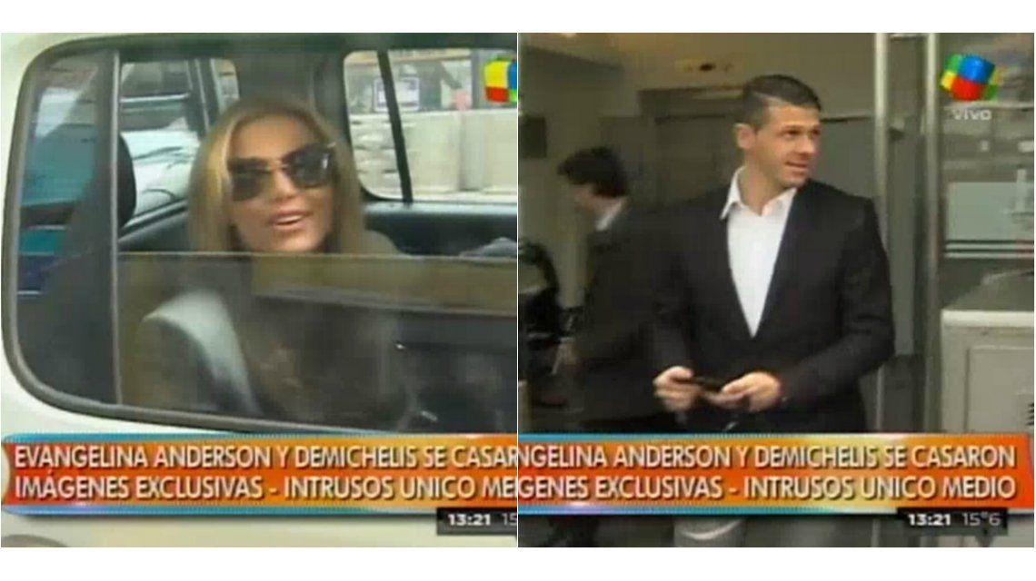 Evangelina Anderson y Martín Demichelis, a horas de su casamiento