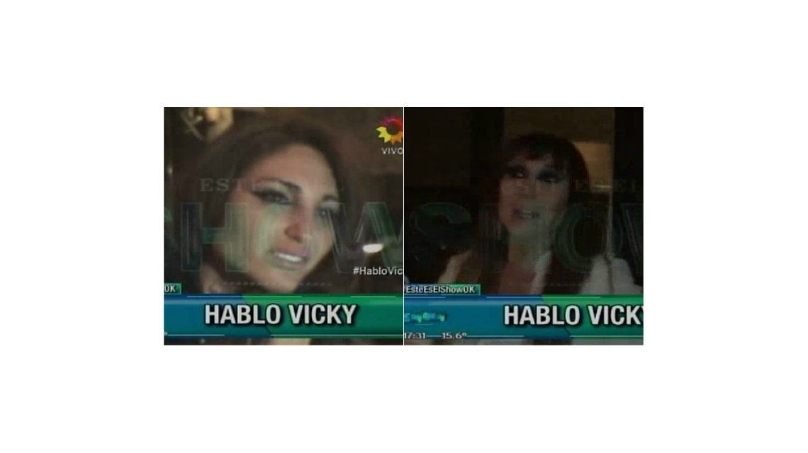 El desconsolado llanto de Vicky Xipolitakis, el reto de Moria Casán y el reclamo a Fernando Burlando