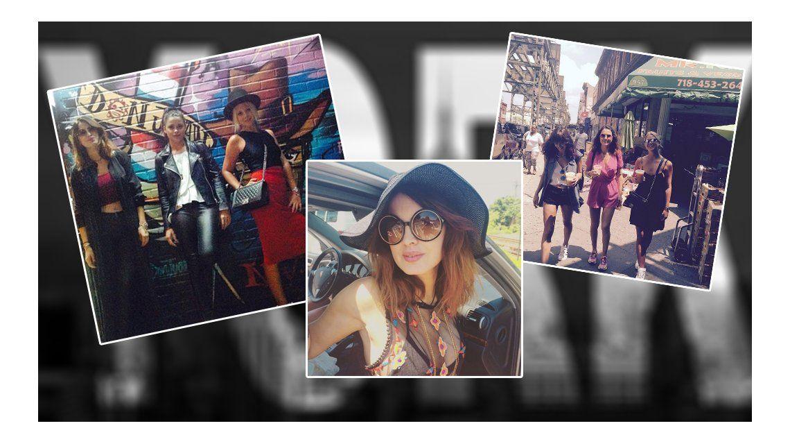 Los looks más excéntricos de Silvina Luna y Vitto Saravia en Nueva York