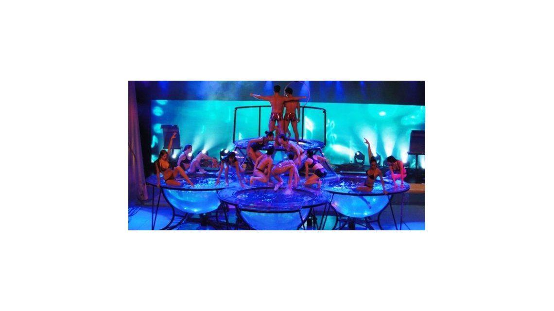Todo listo para que arranque el Aquadance en Showmatch: los detalles