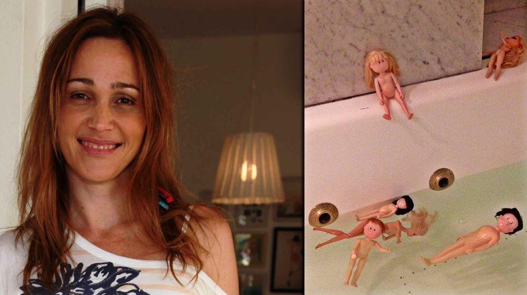 El divertido posporno de Verónica Lozano en la ducha