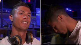 Ronaldo se enojó en una entrevista y se fue: Estoy quedando como un estúpido