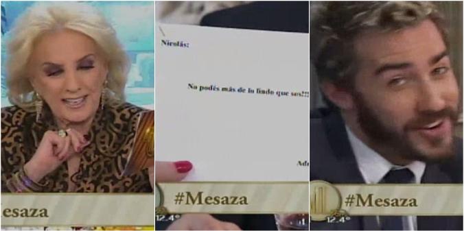 El mensaje de un televidente que sorprendió a Mirtha Legrand: Bueno, está bien, ¡acá se acepta todo!