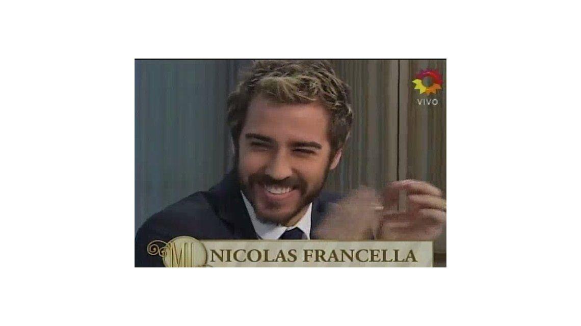 Nico Francella deslumbró en la mesa de Mirtha y se convirtió en tendencia en Twitter