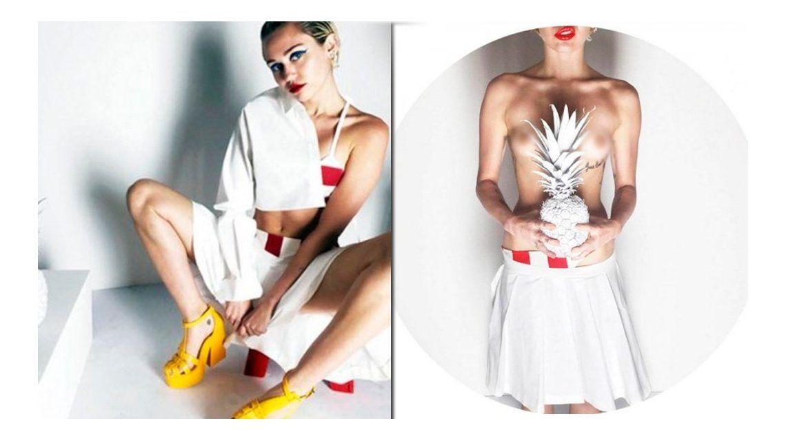 El nuevo topless de Miley Cyrus para una reconocida revista