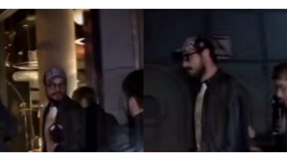 La violenta reacción de Daniel Osvaldo con un cronista en la calle