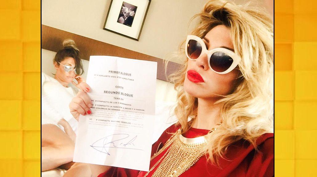 ¿Realidad o Photoshop?: ¿Vicky Xipolitakis está en Buenos Aires o su hermana armó una foto?