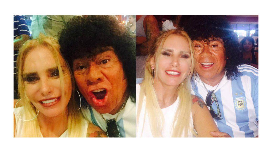 ¿Nace el amor? El encuentro de la Mona Jiménez y la hermana de Fabián Rodríguez en Miami