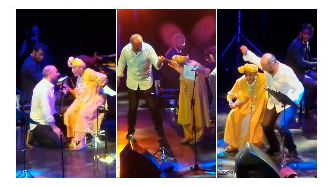 Las imágenes de Onur de Las mil y una noches bailando música cubana