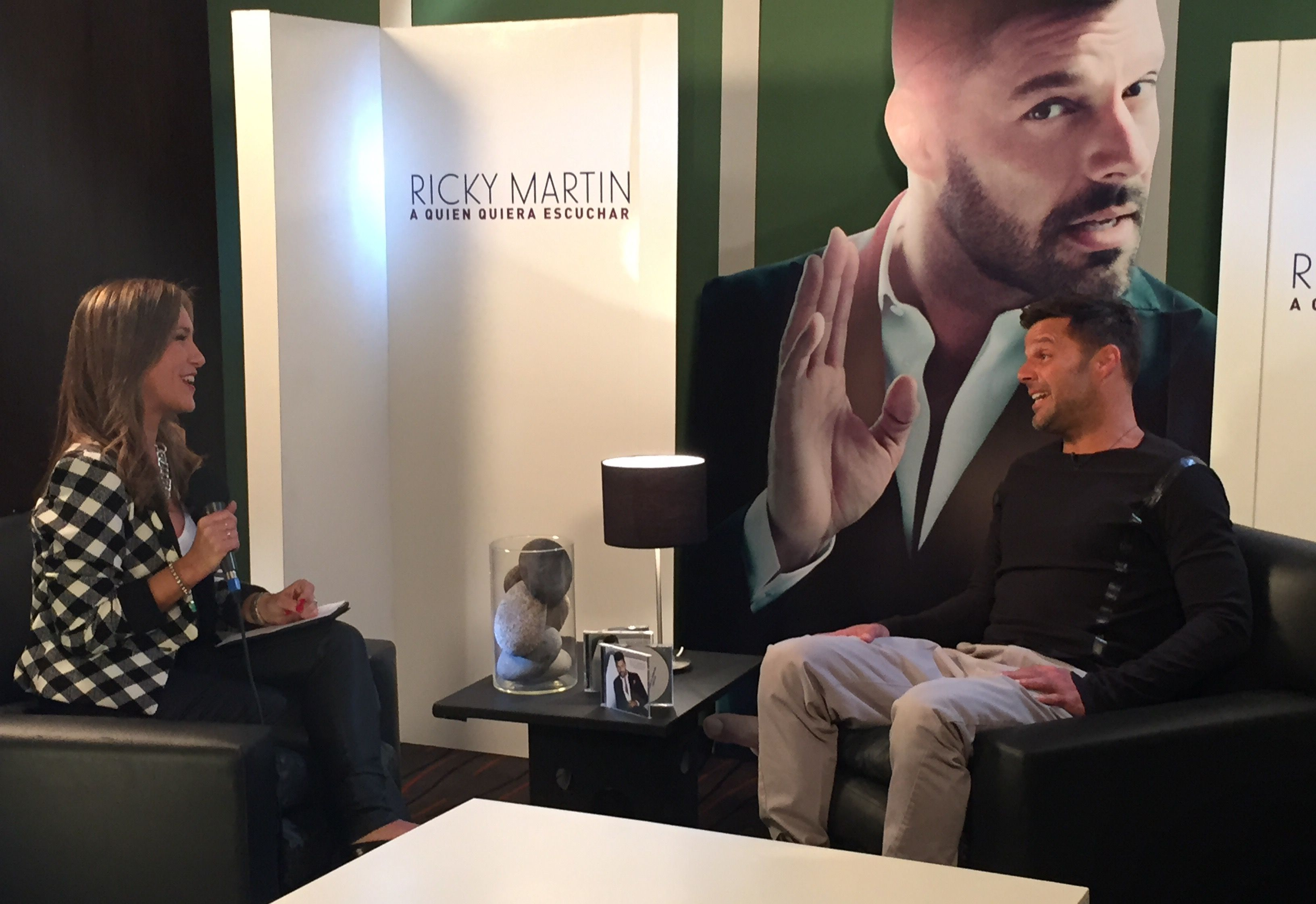 Entrevista íntima a Ricky Martin: Me gustaría dirigir una película