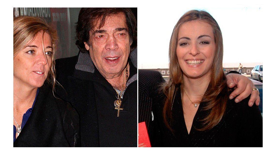 La pareja de Cacho Castaña, acusada de una gran estafa al cantante por la ex, Andrea Sblano