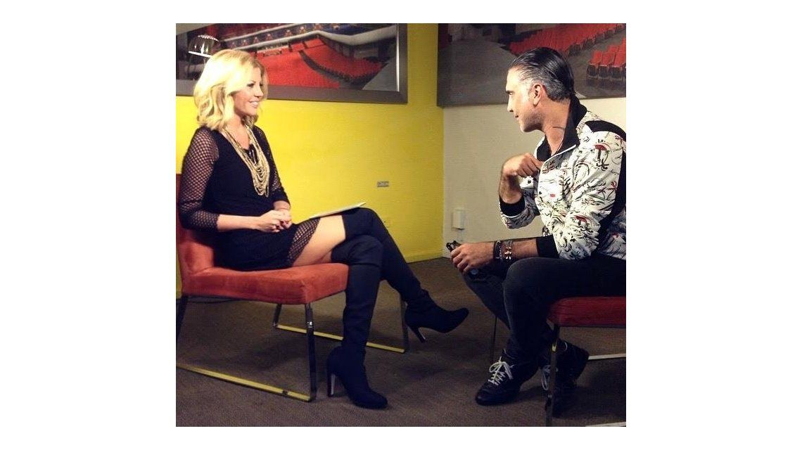 La entrevista íntima de Barbie Simons a Alejandro Fernández para C5N