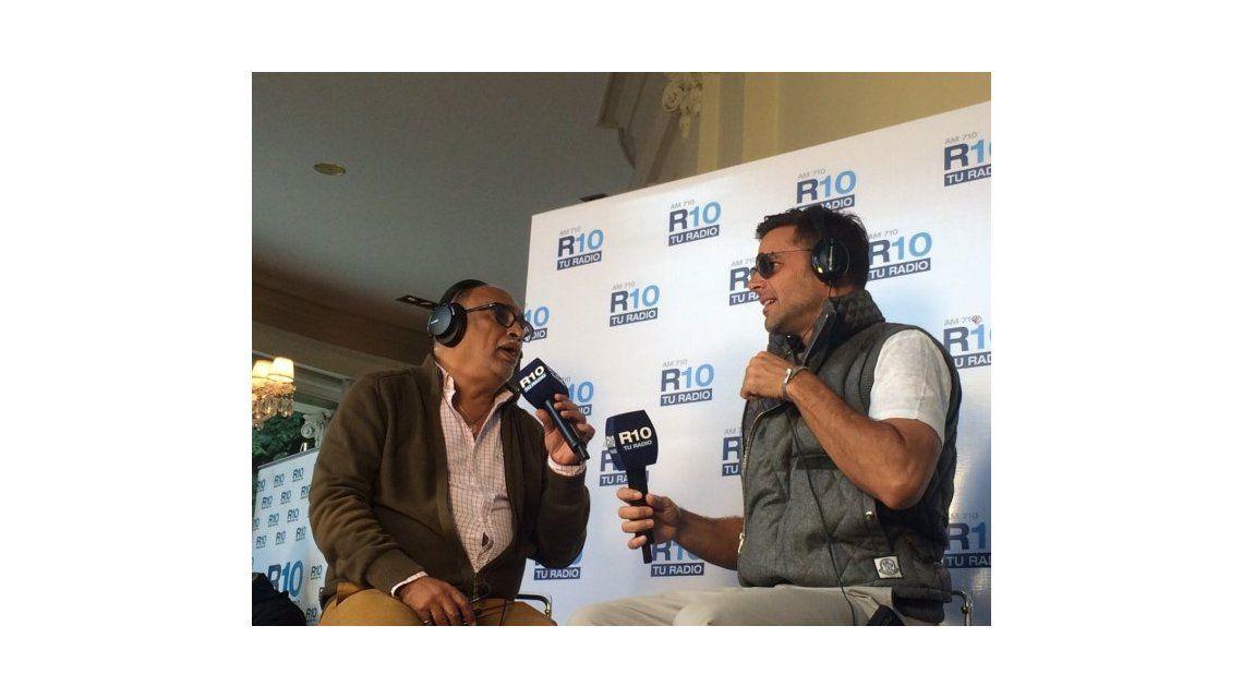 Ricky Martin visitó Radio 10 y confesó: Estoy soltero, muy tranquilo y sin compromisos
