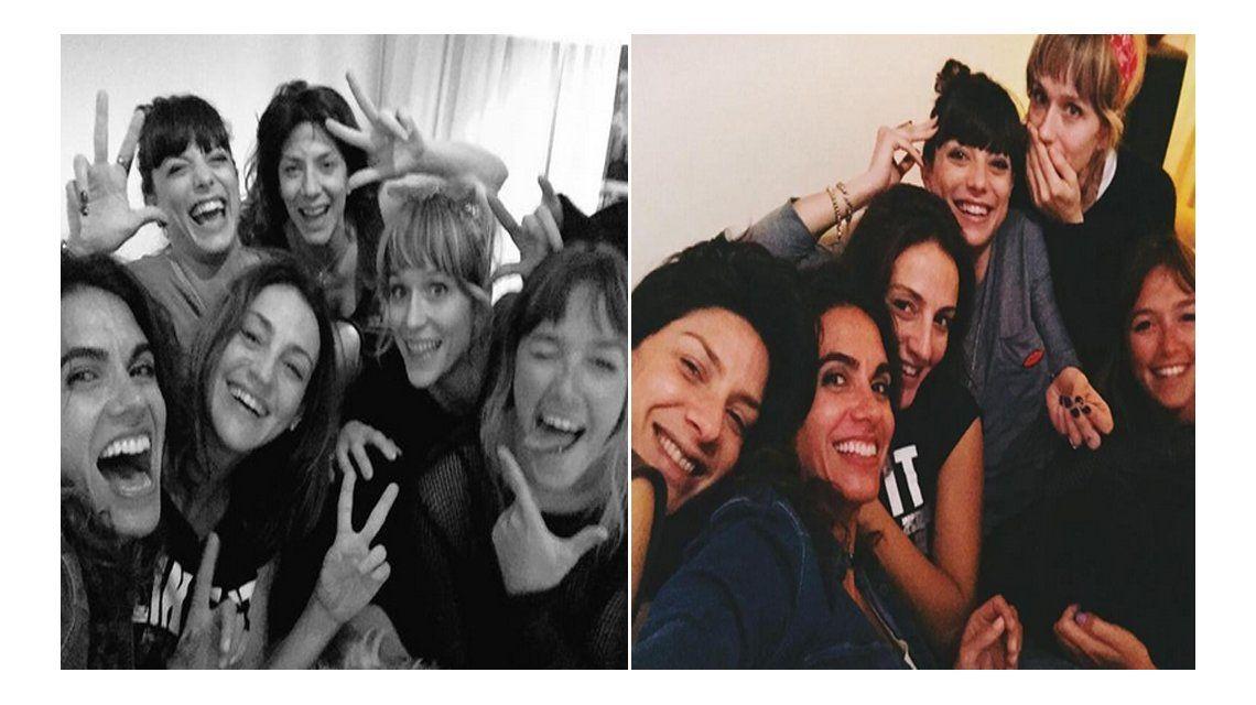 La noche alocada de Manuela Pal, Cande Vetrano, Brenda Gandini ¡y más actrices!