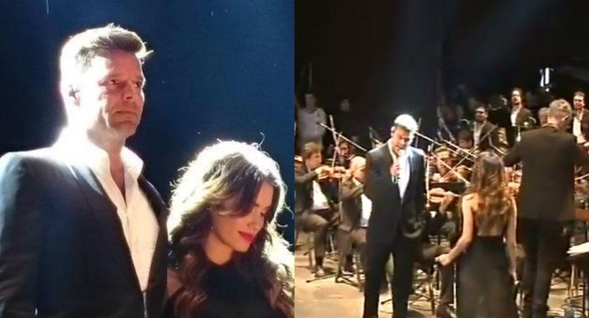 Ricky Martin cantó junto a Lali Espósito en Duetos