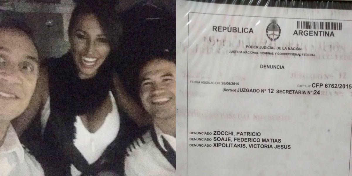 Acusan a Vicky Xipolitakis de atentado contra la seguridad de una aeronave
