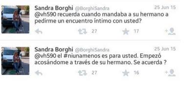 Sandra Borghi denuncia a Víctor Hugo Morales por acoso