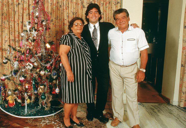 El sufrimiento de Don Diego Maradona después de la muerte de Doña Tota
