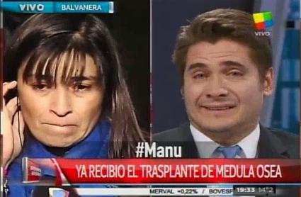 Guillermo Andino quebró en llanto por una conmovedora historia: Somos padres y nos ponemos en tu lugar
