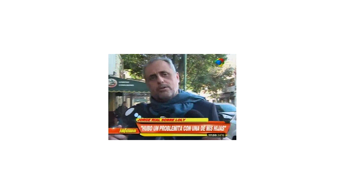 Jorge Rial habló de la separación: Estamos distanciados, hubo un problemita entre Mariana y una de mis hijas, pero nada más