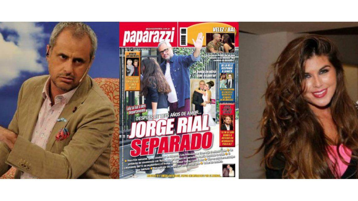Punto final para la relación entre Jorge Rial y Loly Antoniale: los detalles de la separación