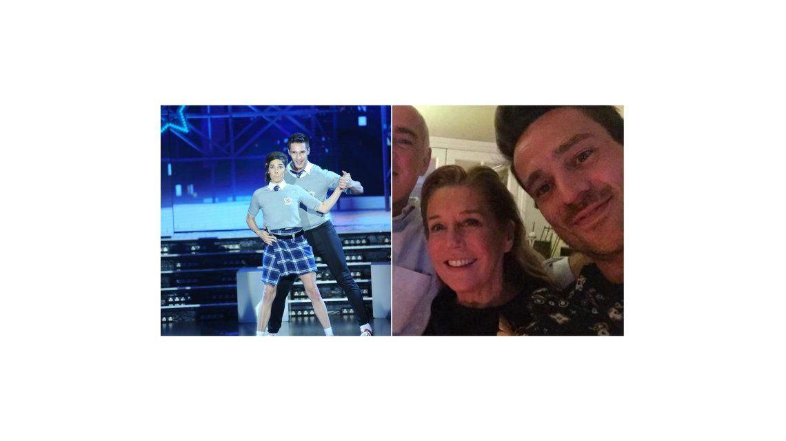 Juana Viale sorprendió bailando como colegiala y Chano mandó un tweet ¡junto a Tinayre!