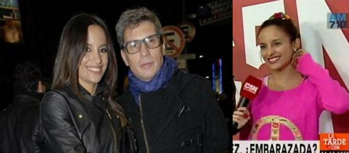 ¿Lourdes Sánchez está embarazada del Chato Prada?