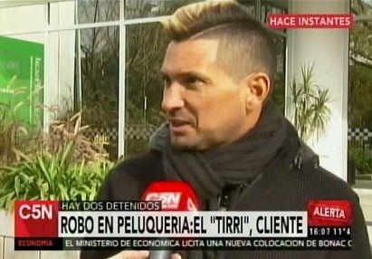 Luciano El Tirri protagonizó un violento asalto: Me dijeron te tendría que pegar un tiro por cómo bailás