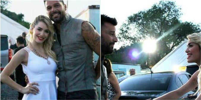 Lali Espósito cantará en Argentina con Ricky Martin: las fotos juntos