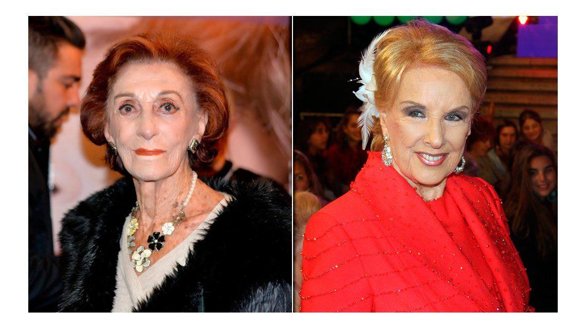 Hilda Bernard vs Mirtha Legrand: Después de 40 años, no iría a su programa; algunos van 10 veces al año